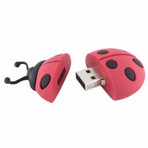Flash drive with logo ladybird