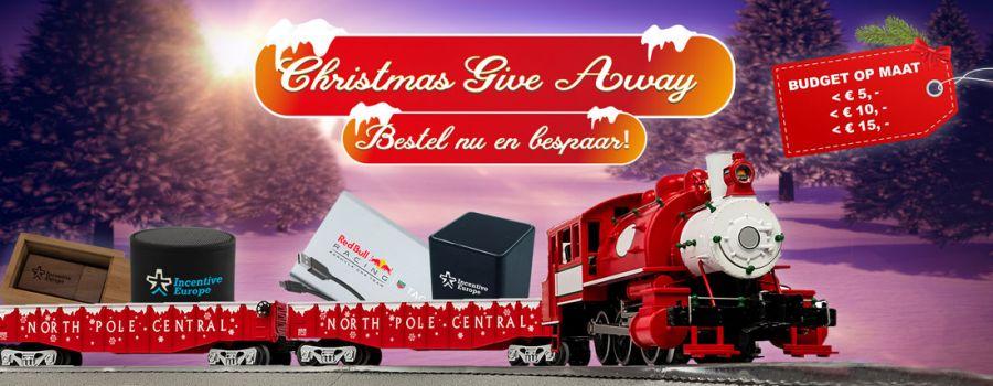 Bestel uw Kerst geschenken nu en bespaar op transport kosten