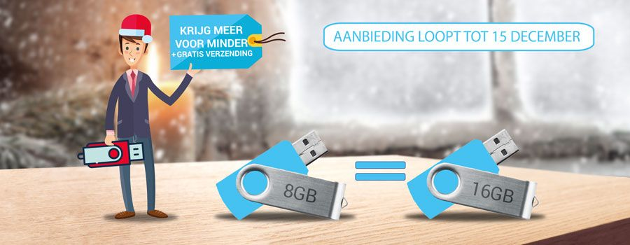 8GB = 16GB USB sticks