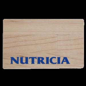 Creditcard wood - USB-stick