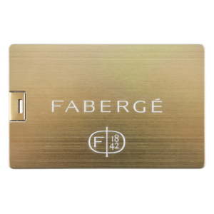 Credit Card Gold - USB-stick