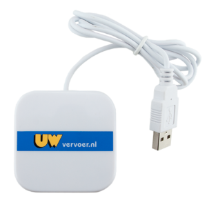 Webbutton vierkant - USB-stick